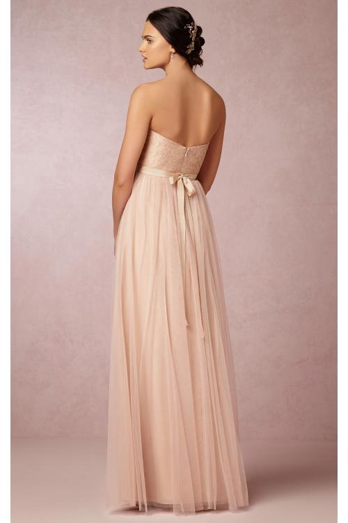 Sweetheart Sleeveless Tulle Empire A-line Bridesmaid Dresses