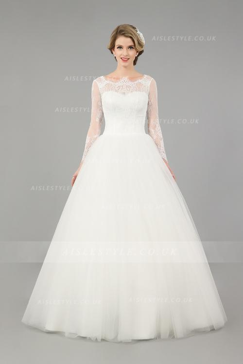 Short Sleeve Wedding Dresses,Half Sleeve Wedding Dresses,3/4 ...