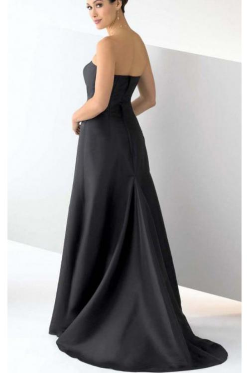 Princess Floor-length Zipper Strapless Natural Bridesmaid Dresses