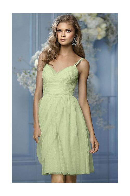 Strapless Sleeveless Chiffon Natural A-line Bridesmaid Dresses