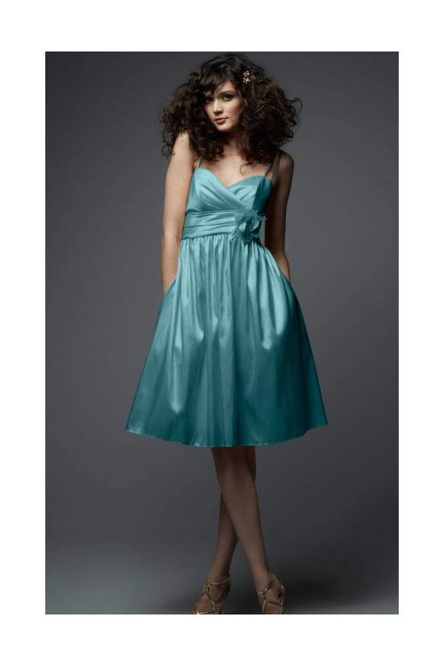 Taffeta Zipper Sleeveless Natural A-line Bridesmaid Dresses