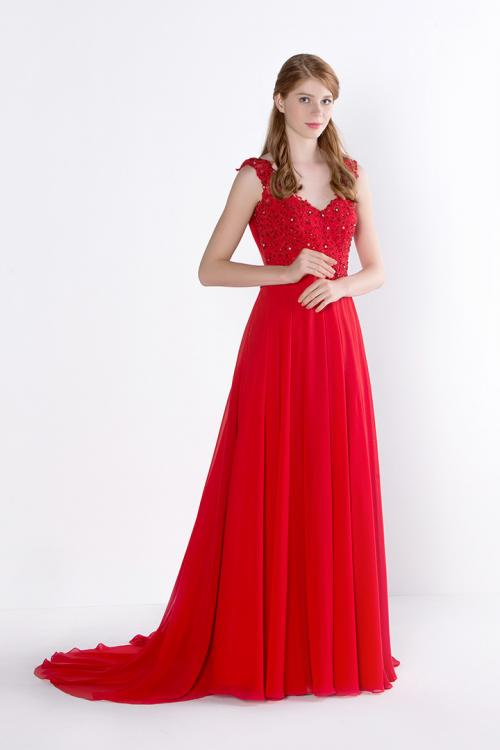 25 best ideas about Straps Prom Dresses on Pinterest