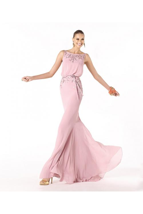 Sexy Trumpet/Mermaid Spaghetti Straps Sequins Floor-length Chiffon Cocktail Dresses