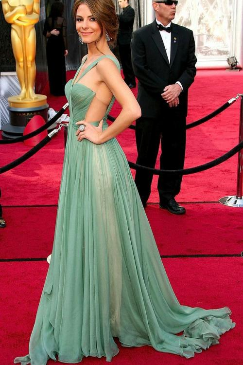 Chic Modern Shoulder Straps Pleated Aqua Chiffon Capret Inspired Prom Dress