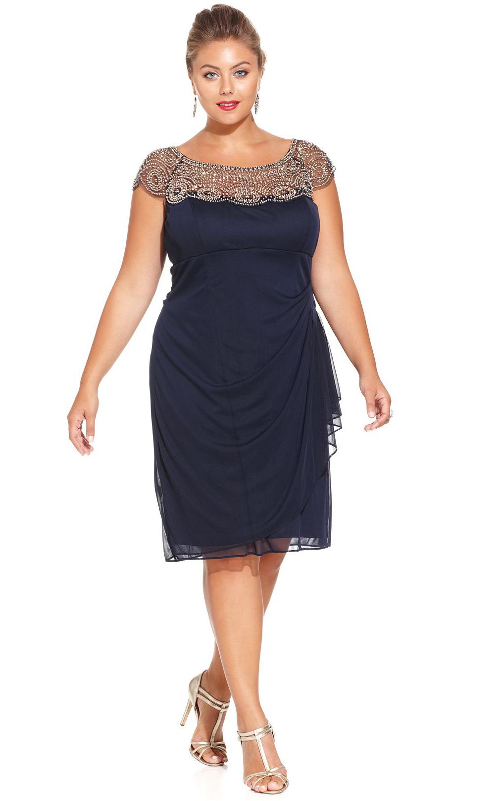 Plus size navy bridesmaid dresses uk plus size tops for Navy plus size dress for wedding