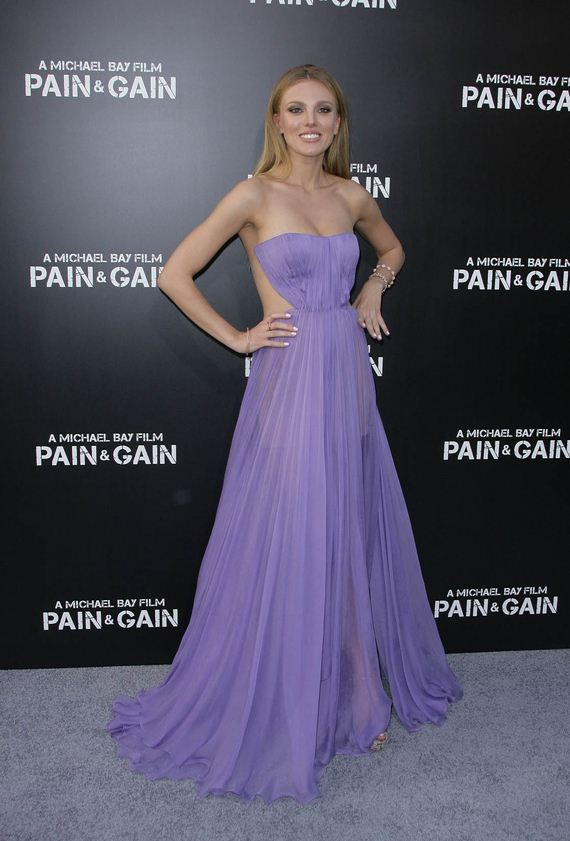 Sexy Beach Bar Paly at the Pain Gain Los Angeles Stylish Prom Dress
