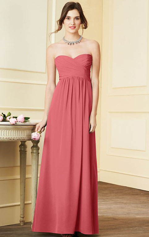 Sweetheart A-line Zipper Empire Sleeveless Bridesmaid Dresses