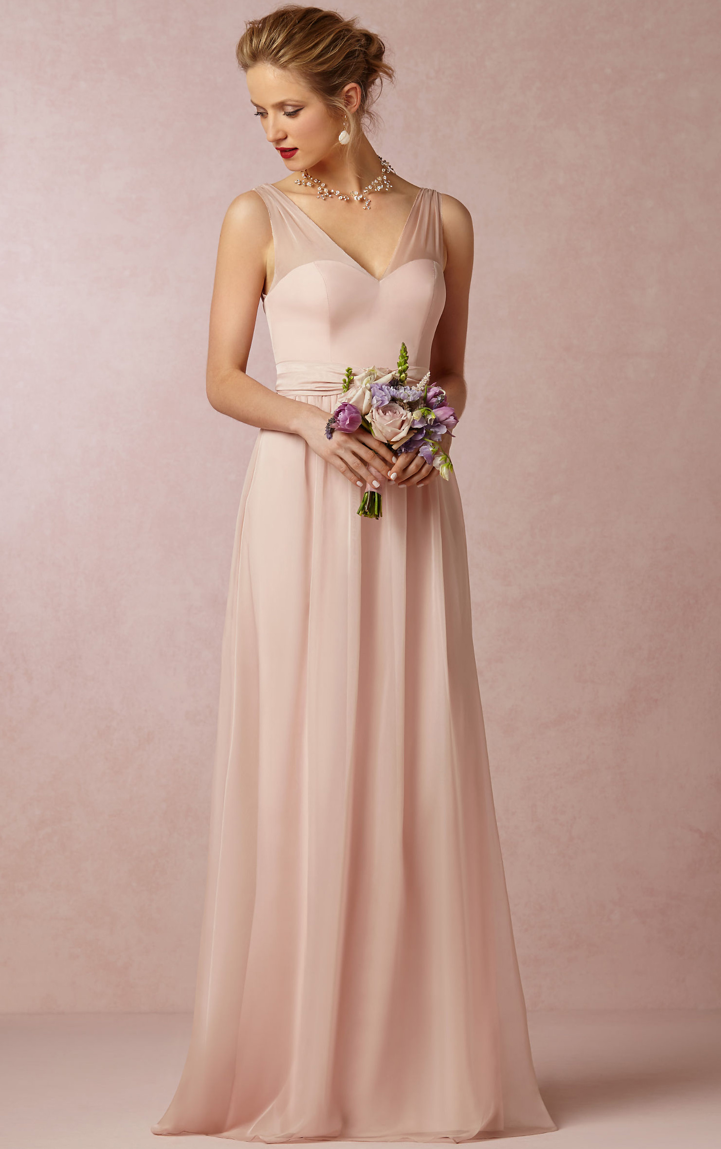 Pink bridesmaid dresses fashion life pink bridesmaid dresses hvimx9vq ombrellifo Choice Image