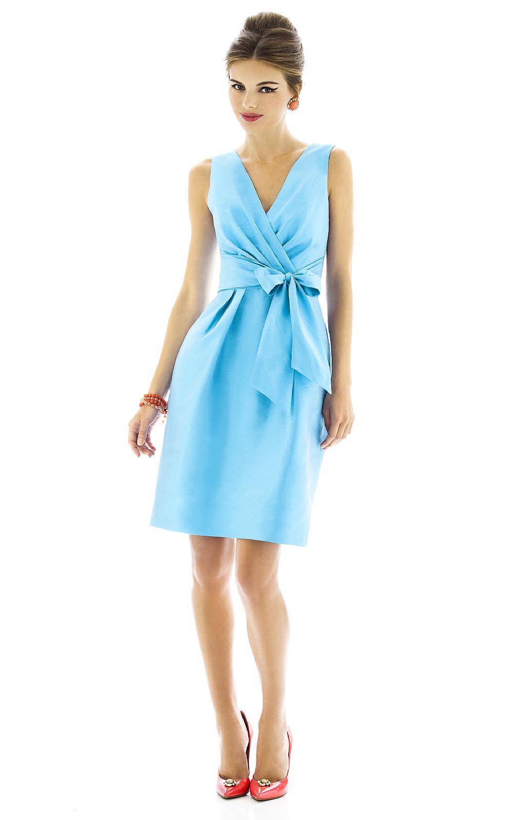 http://www.aislestyle.co.uk/zipper-kneelength-vneck-satin-sleeveless-bridesmaid-dresses-p-5481.html