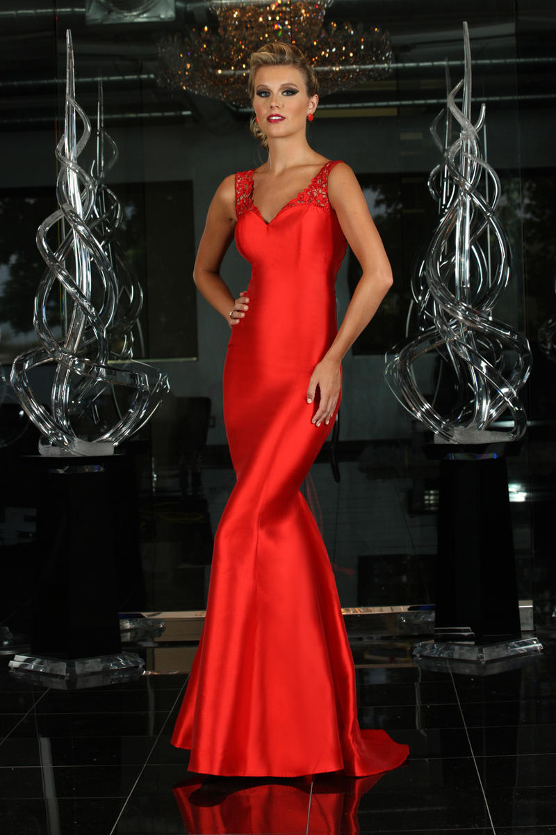 Trumpet/Mermaid Shoulder Straps Sleeveless Beading Floor-length Long Satin Evening Dresses
