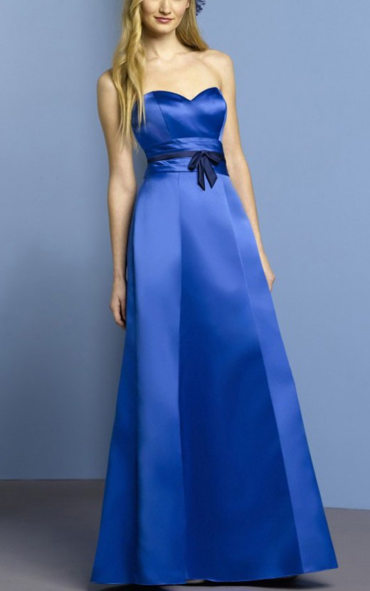 Natural Sweetheart None A-line Floor-length Bridesmaid Dresses