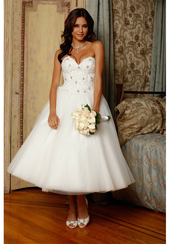 Elegant Ball Gown Sweetheart Beading&Sequins Lace Top Tulle Wedding Dresses