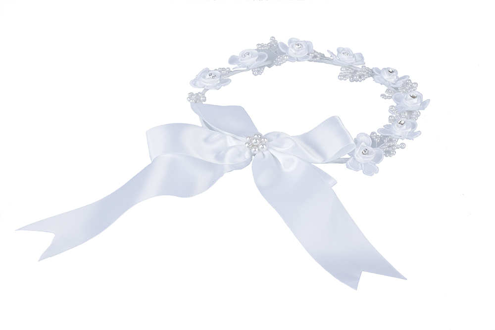 Pearl Diamond White child Hair Accessories