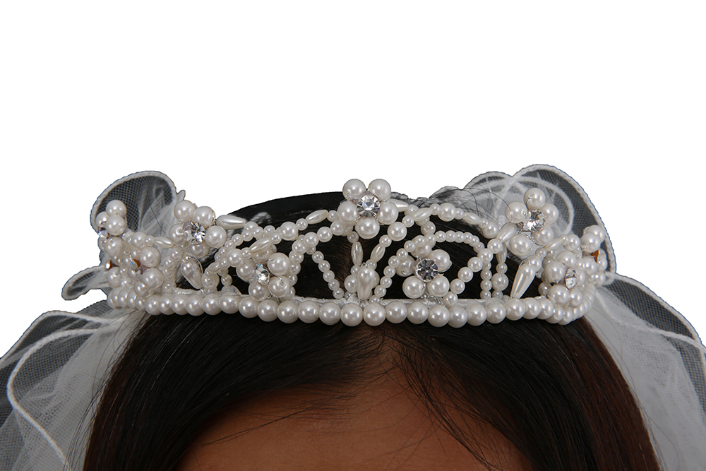 Exquisite Pearl Princess Wedding Hair Accessories