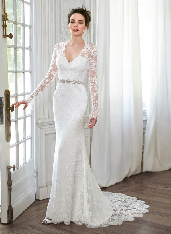 All Lace Wedding Dresses With Long Sleeves