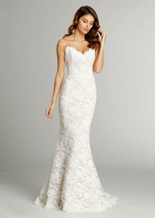 Wedding Dresses Trumpet Style Lace 76