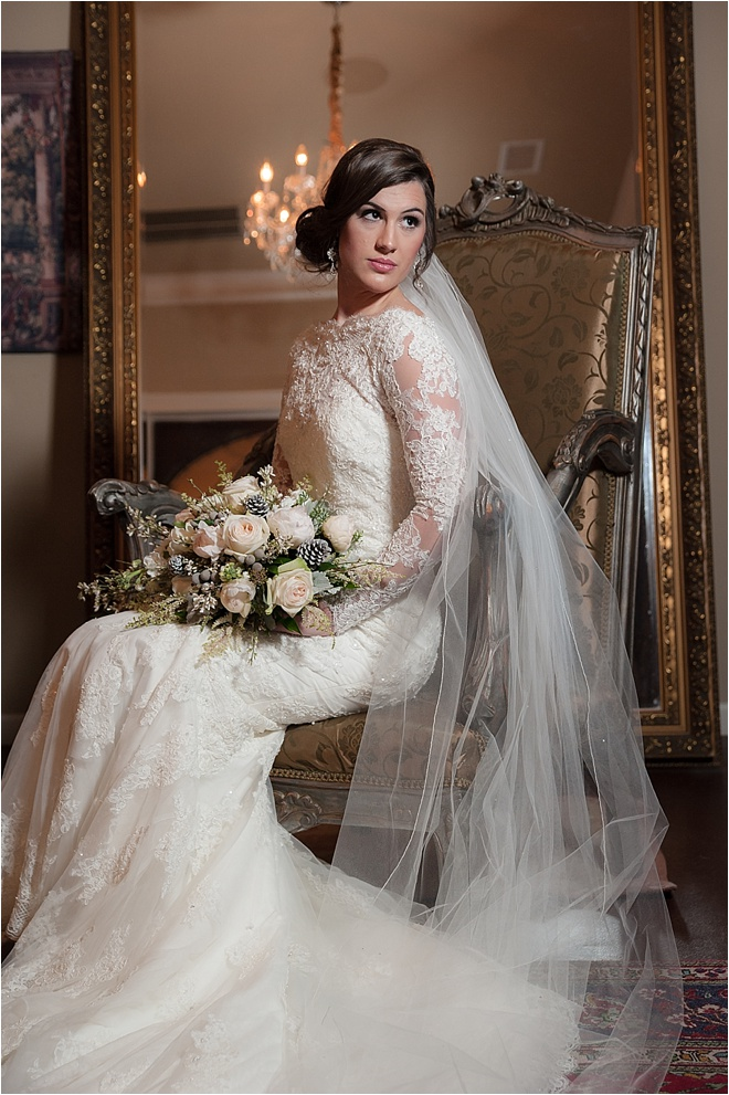 Turmec Long Sleeve Lace Wedding Dress Glasgow
