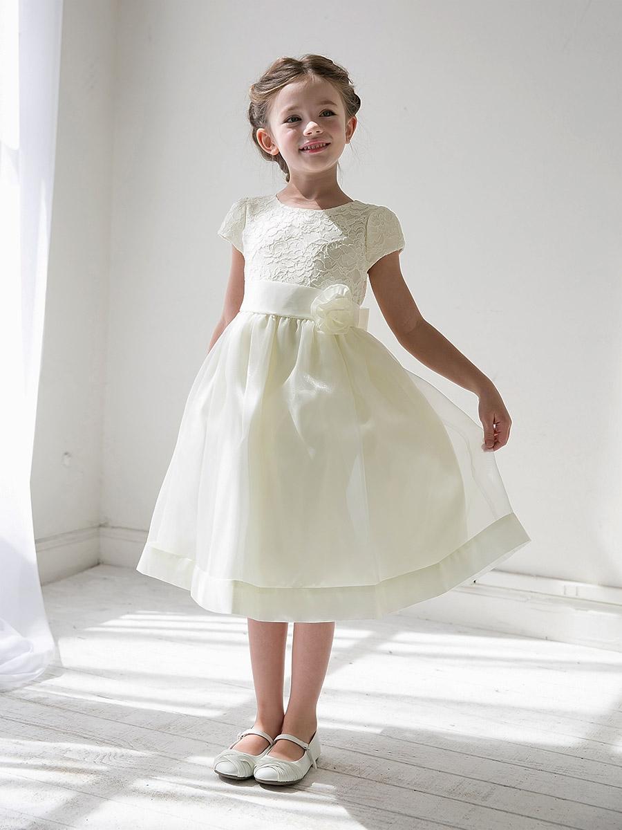 7af793f182 Short White Flower Girl Dresses - Gomes Weine AG