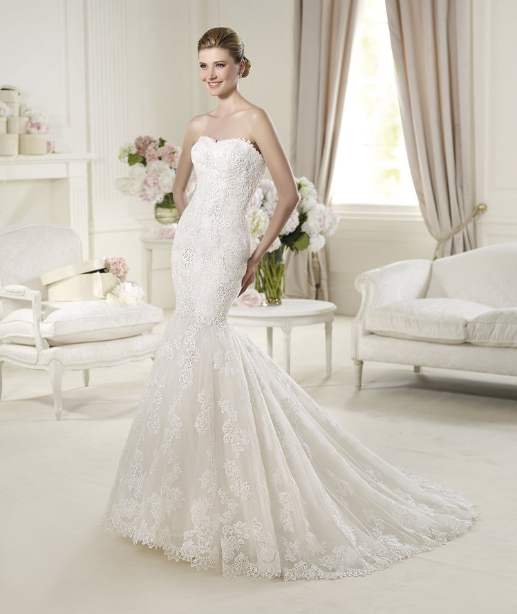 Trumpet Style Wedding Dresses Lace : Lace wedding dresses bridesmaid gowns