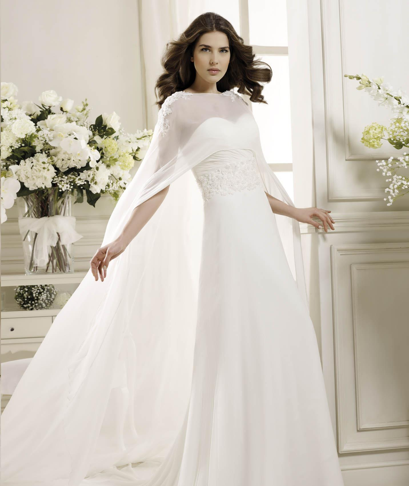 Simple Sheath/Column Sweetheart Beading&Sequins Lace Sweep/Brush Train Chiffon Wedding Dresses