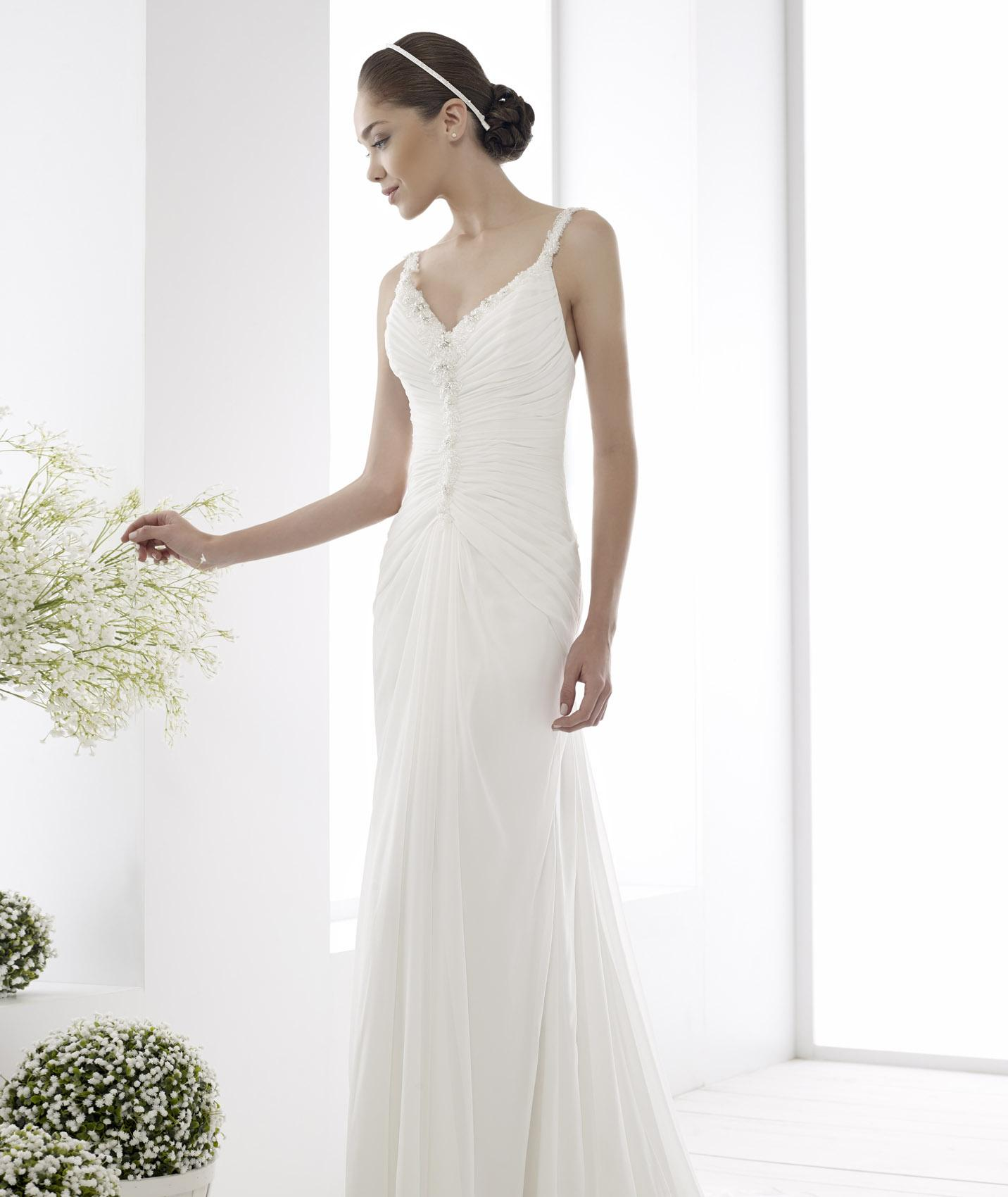 Simple sheath wedding dresses discount wedding dresses for Cheap sheath wedding dresses