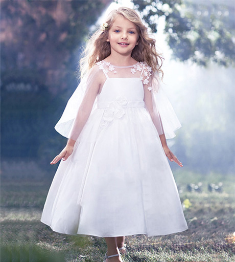 Yellow Childrens Bridesmaid Dresses Uk 63